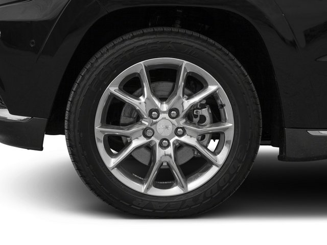 2015 Jeep Grand Cherokee Prices and Values Utility 4D Summit Diesel 4WD wheel