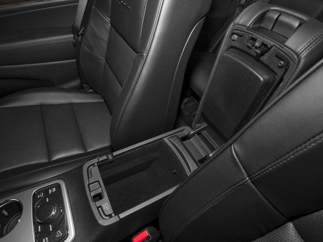 2015 Jeep Grand Cherokee Prices and Values Utility 4D Summit 2WD center storage console