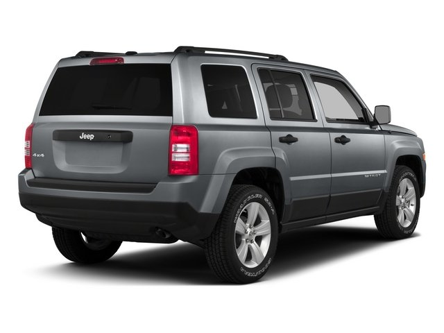 2015 Jeep Patriot Prices and Values Utility 4D Limited 4WD side rear view