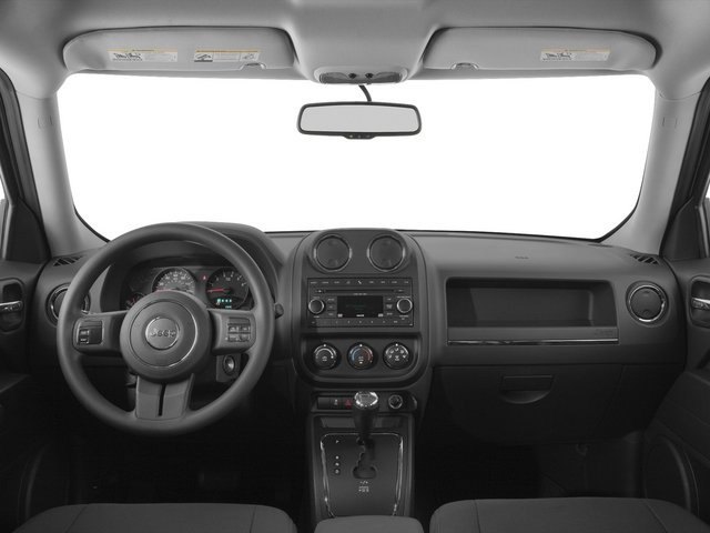 2015 Jeep Patriot Prices and Values Utility 4D Latitude 4WD full dashboard