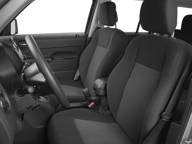 2015 Jeep Patriot Prices and Values Utility 4D Latitude 2WD front seat interior