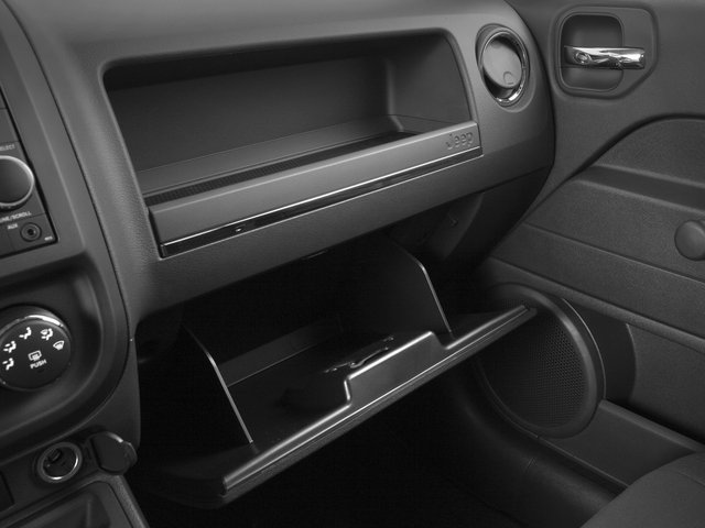 2015 Jeep Patriot Prices and Values Utility 4D Latitude 2WD glove box