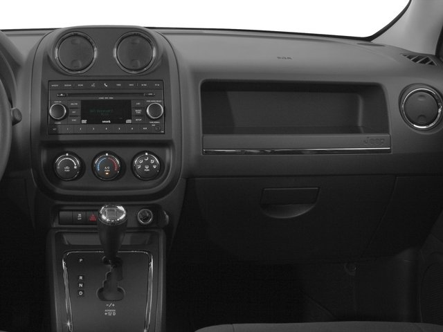 2015 Jeep Patriot Prices and Values Utility 4D Latitude 2WD passenger's dashboard