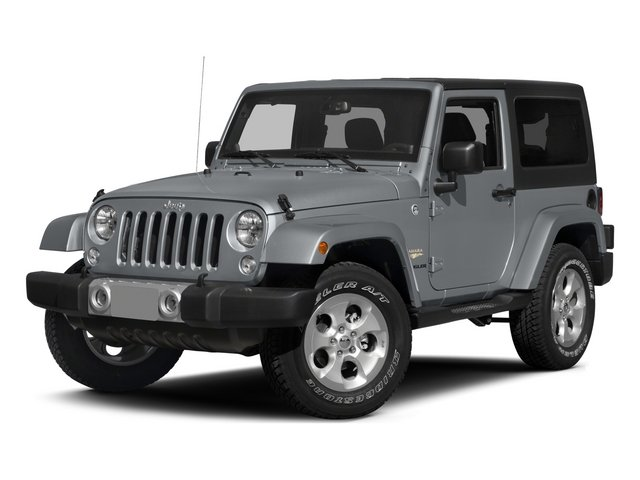 2015 Jeep Wrangler Pictures Wrangler Utility 2D Sahara 4WD V6 photos side front view