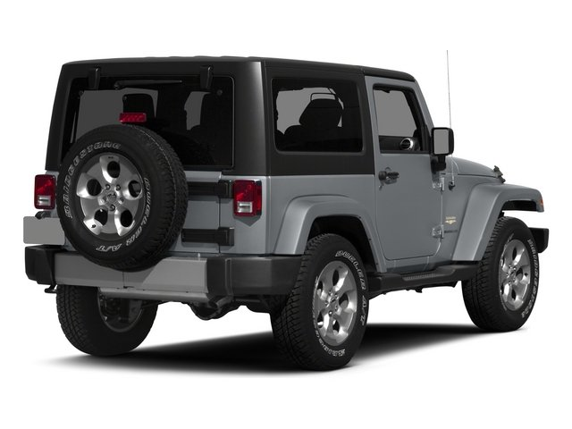 2015 Jeep Wrangler Pictures Wrangler Utility 2D Sahara 4WD V6 photos side rear view