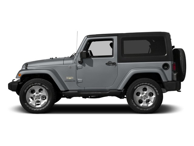 2015 Jeep Wrangler Pictures Wrangler Utility 2D Sahara 4WD V6 photos side view