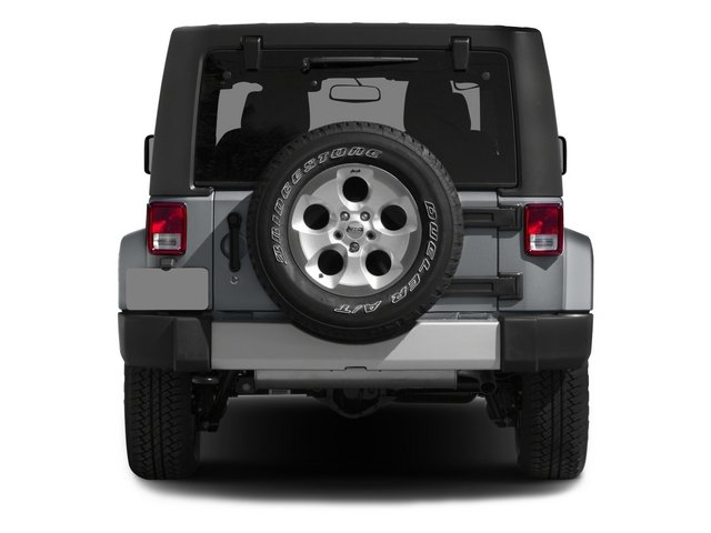 2015 Jeep Wrangler Prices and Values Utility 2D Sport 4WD V6 rear view