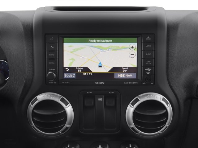 2015 Jeep Wrangler Prices and Values Utility 2D Sport 4WD V6 navigation system