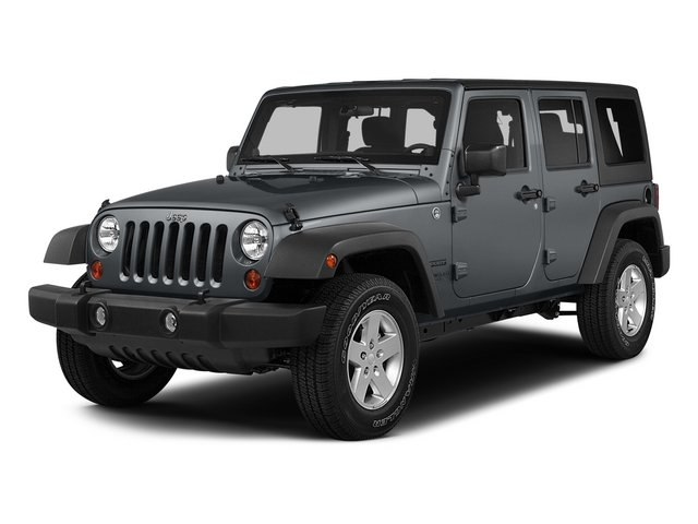 2015 Jeep Wrangler Unlimited Pictures Wrangler Unlimited Utility 4D Unlimited Sport 4WD V6 photos side front view