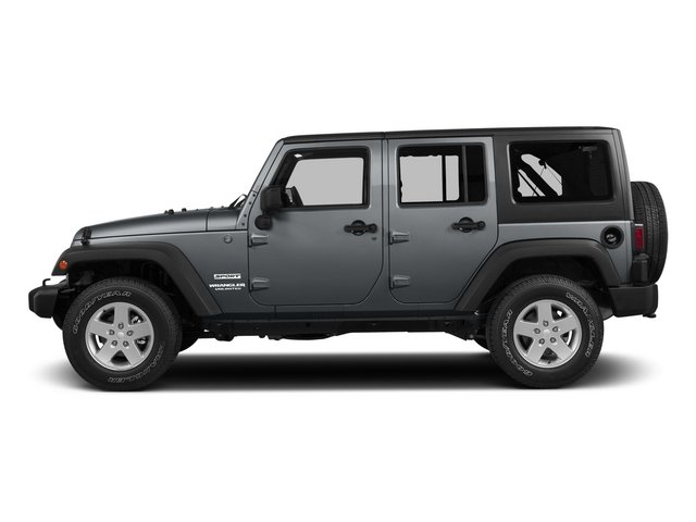 2015 Jeep Wrangler Unlimited Pictures Wrangler Unlimited Utility 4D Unlimited Sport 4WD V6 photos side view