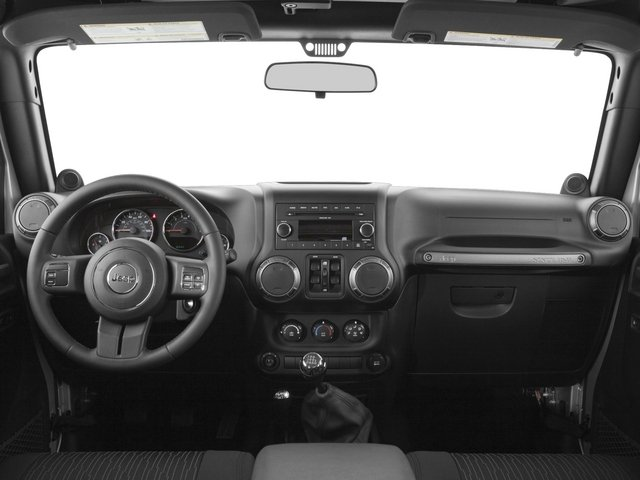 2015 Jeep Wrangler Unlimited Pictures Wrangler Unlimited Utility 4D Unlimited Rubicon 4WD V6 photos full dashboard