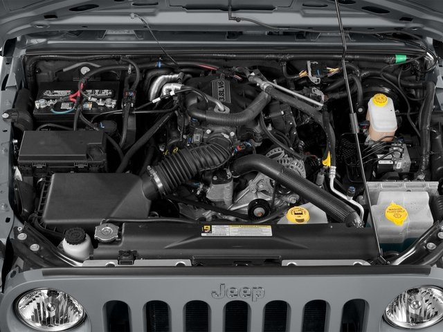 2015 Jeep Wrangler Unlimited Pictures Wrangler Unlimited Utility 4D Unlimited Sport 4WD V6 photos engine