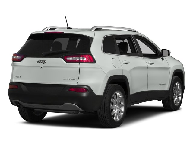 2015 Jeep Cherokee Prices and Values Utility 4D Altitude 4WD side rear view