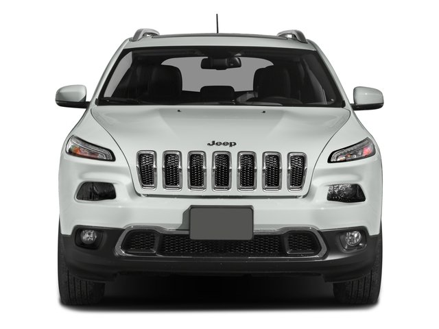 2015 Jeep Cherokee Prices and Values Utility 4D Limited 2WD front view
