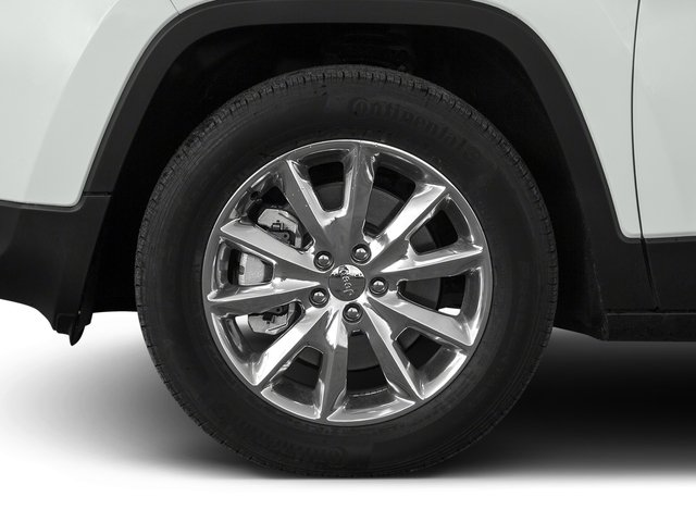2015 Jeep Cherokee Prices and Values Utility 4D Sport 4WD wheel