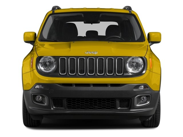 2015 Jeep Renegade Prices and Values Utility 4D Latitude 2WD I4 front view