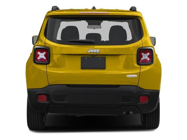 2015 Jeep Renegade Prices and Values Utility 4D Latitude 2WD I4 rear view