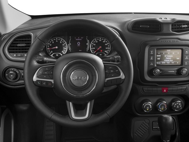 2015 Jeep Renegade Prices and Values Utility 4D Latitude 2WD I4 driver's dashboard