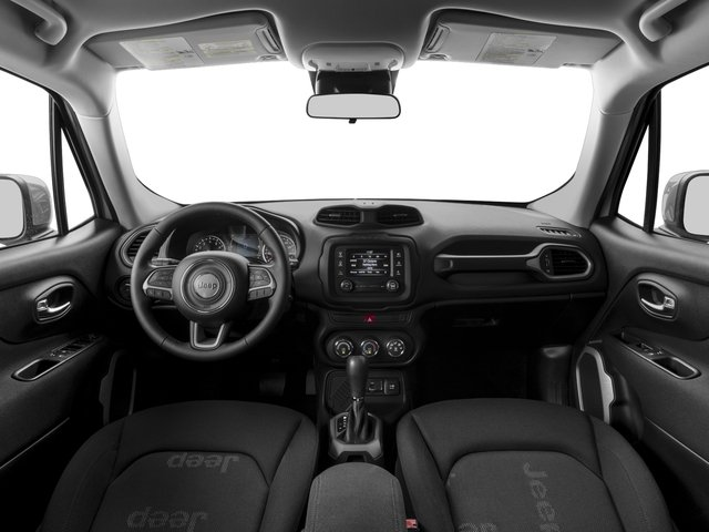 2015 Jeep Renegade Prices and Values Utility 4D Sport AWD I4 full dashboard