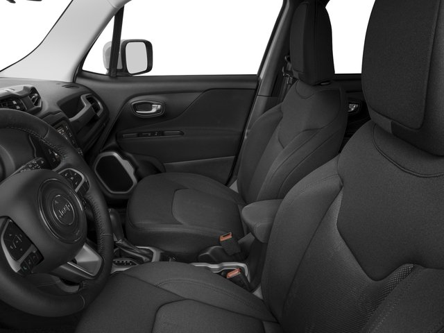 2015 Jeep Renegade Prices and Values Utility 4D Latitude 2WD I4 front seat interior