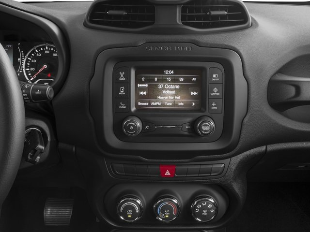 2015 Jeep Renegade Prices and Values Utility 4D Latitude 2WD I4 stereo system