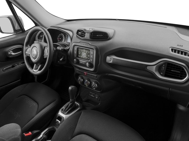 2015 Jeep Renegade Prices and Values Utility 4D Latitude 2WD I4 passenger's dashboard