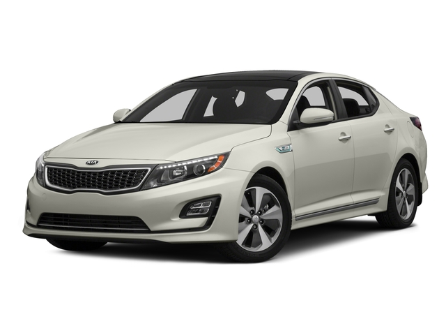 2015 Kia Optima Hybrid Prices and Values Sedan 4D EX I4 Hybrid side front view