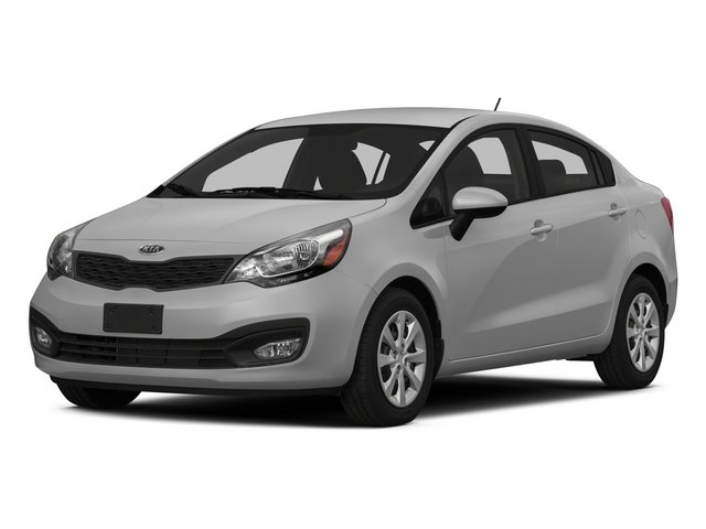2015 Kia Rio Pictures Rio Sedan 4D EX I4 photos side front view