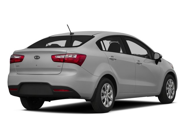 2015 Kia Rio Pictures Rio Sedan 4D EX I4 photos side rear view