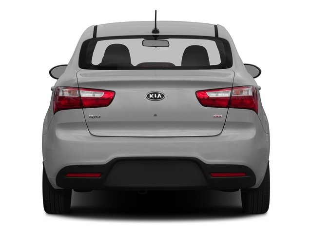 2015 Kia Rio Pictures Rio Sedan 4D EX I4 photos rear view