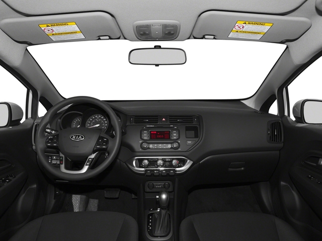 2015 Kia Rio Pictures Rio Sedan 4D EX I4 photos full dashboard