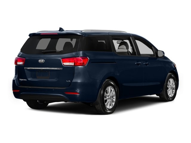 2015 Kia Sedona Prices and Values Wagon LX V6 side rear view