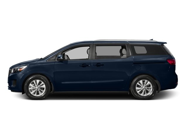 2015 Kia Sedona Prices and Values Wagon LX V6 side view