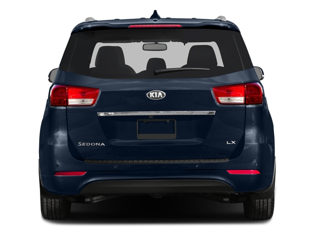 2015 Kia Sedona Prices and Values Wagon LX V6 rear view