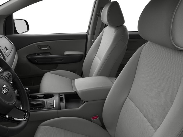 2015 Kia Sedona Prices and Values Wagon LX V6 front seat interior