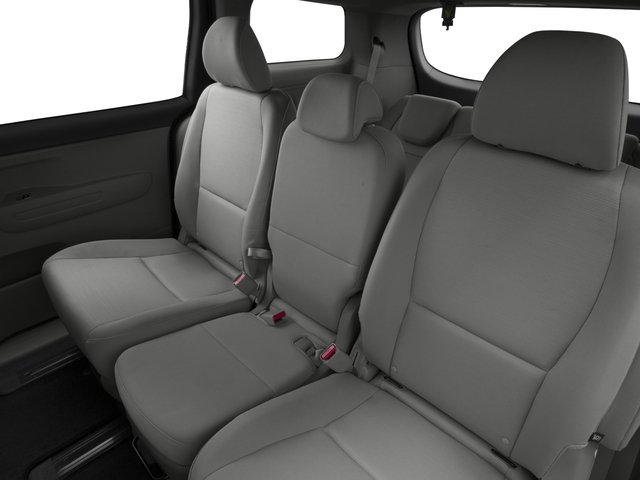 2015 Kia Sedona Prices and Values Wagon LX V6 backseat interior