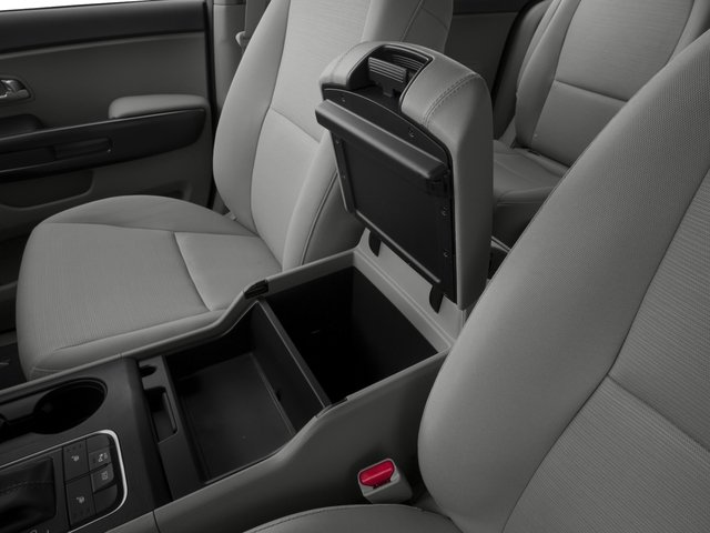2015 Kia Sedona Prices and Values Wagon LX V6 center storage console