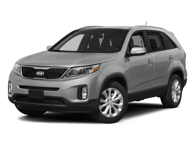 2015 Kia Sorento Prices and Values Utility 4D LX 2WD I4 side front view