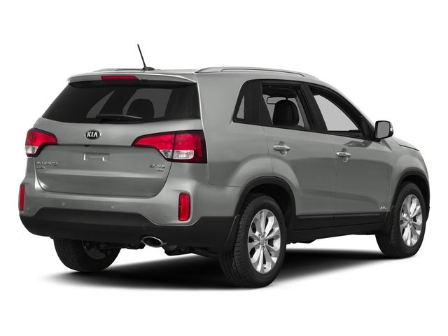 2015 Kia Sorento Prices and Values Utility 4D LX 2WD I4 side rear view