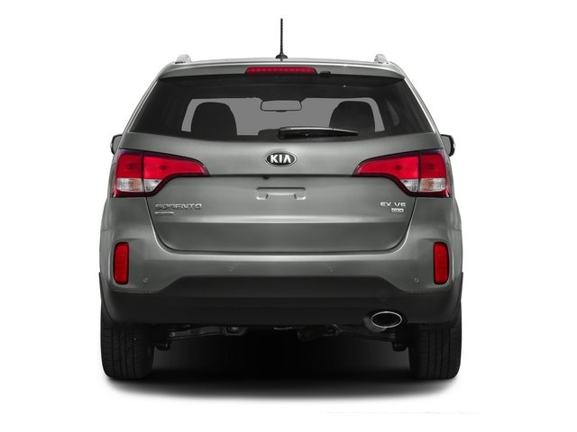 2015 Kia Sorento Prices and Values Utility 4D EX AWD V6 rear view