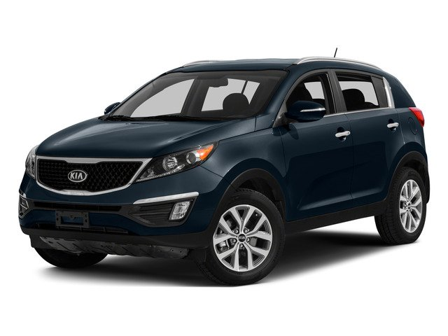 2015 Kia Sportage Pictures Sportage Utility 4D EX 2WD I4 photos side front view