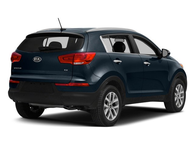 2015 Kia Sportage Prices and Values Utility 4D SX AWD I4 Turbo side rear view