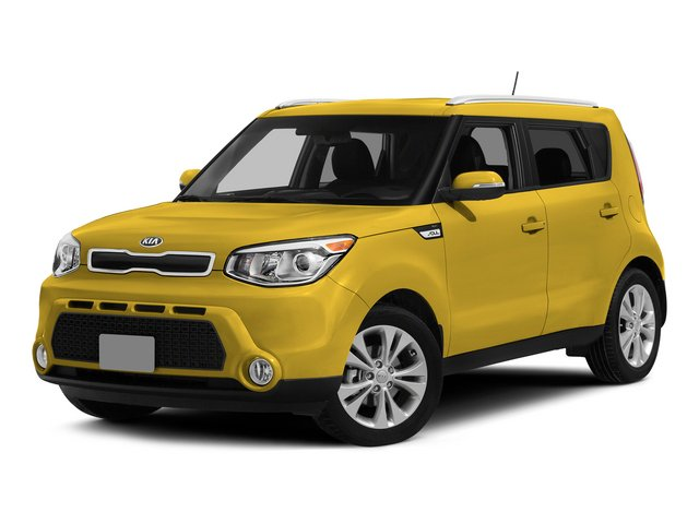 2015 Kia Soul Pictures Soul Wagon 4D I4 photos side front view