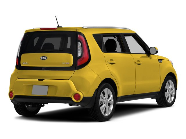 2015 Kia Soul Pictures Soul Wagon 4D I4 photos side rear view