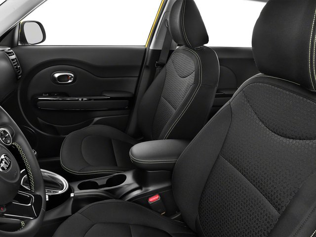 2015 Kia Soul Prices and Values Wagon 4D I4 front seat interior