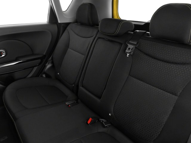 2015 Kia Soul Prices and Values Wagon 4D I4 backseat interior