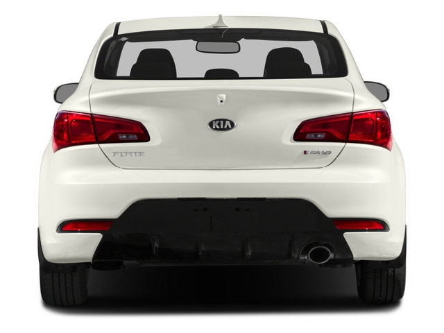 2015 Kia Forte Koup Prices and Values Coupe 2D EX I4 rear view