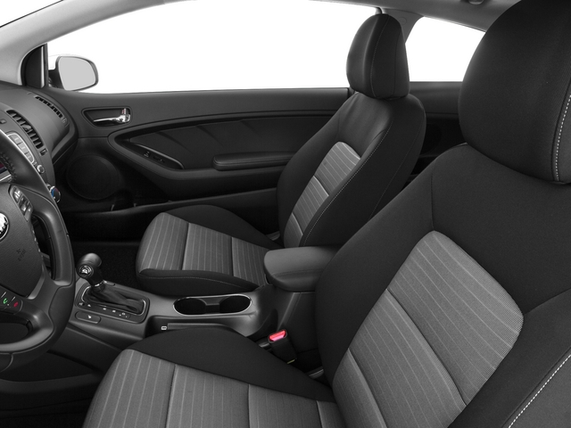 2015 Kia Forte Koup Prices and Values Coupe 2D EX I4 front seat interior