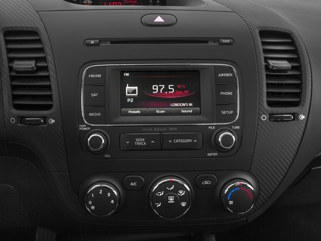 2015 Kia Forte Koup Prices and Values Coupe 2D EX I4 stereo system