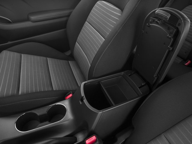 2015 Kia Forte Koup Prices and Values Coupe 2D EX I4 center storage console